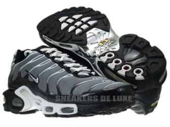 Nike Air Max Plus TN 1 Premium Cool Grey/Metallic Silver-White 387179-005