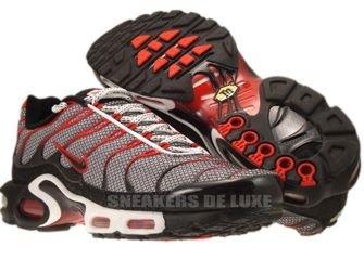 Nike Air Max Plus TN 1 White/Black-Challenge Red