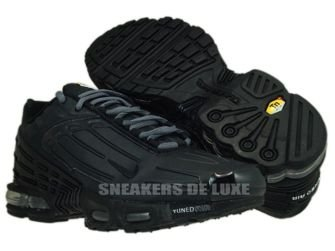 Nike Air Max Plus TN III 3 Black/Black 604201-005