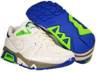 Nike Air Structure 91 Triax White/Electric Green/Blue Sapphire 318088-111
