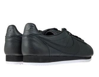 Nike Classic Cortez Premium 807480-002 Black/Black-White