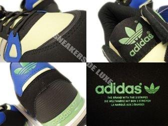 Q23662 Adidas ZX 750 Originals Black/Bliss-Haze Yellow