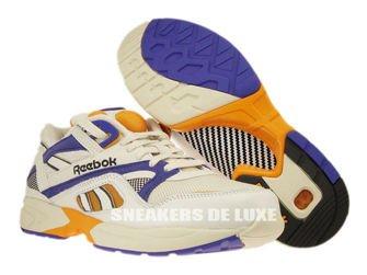 V60183 Reebok Pump Graphlite Vintage Chalk/Sandtrap/Purple