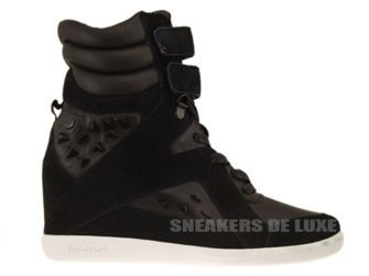 V60905 Reebok Alicia Keys Wedge Black/White